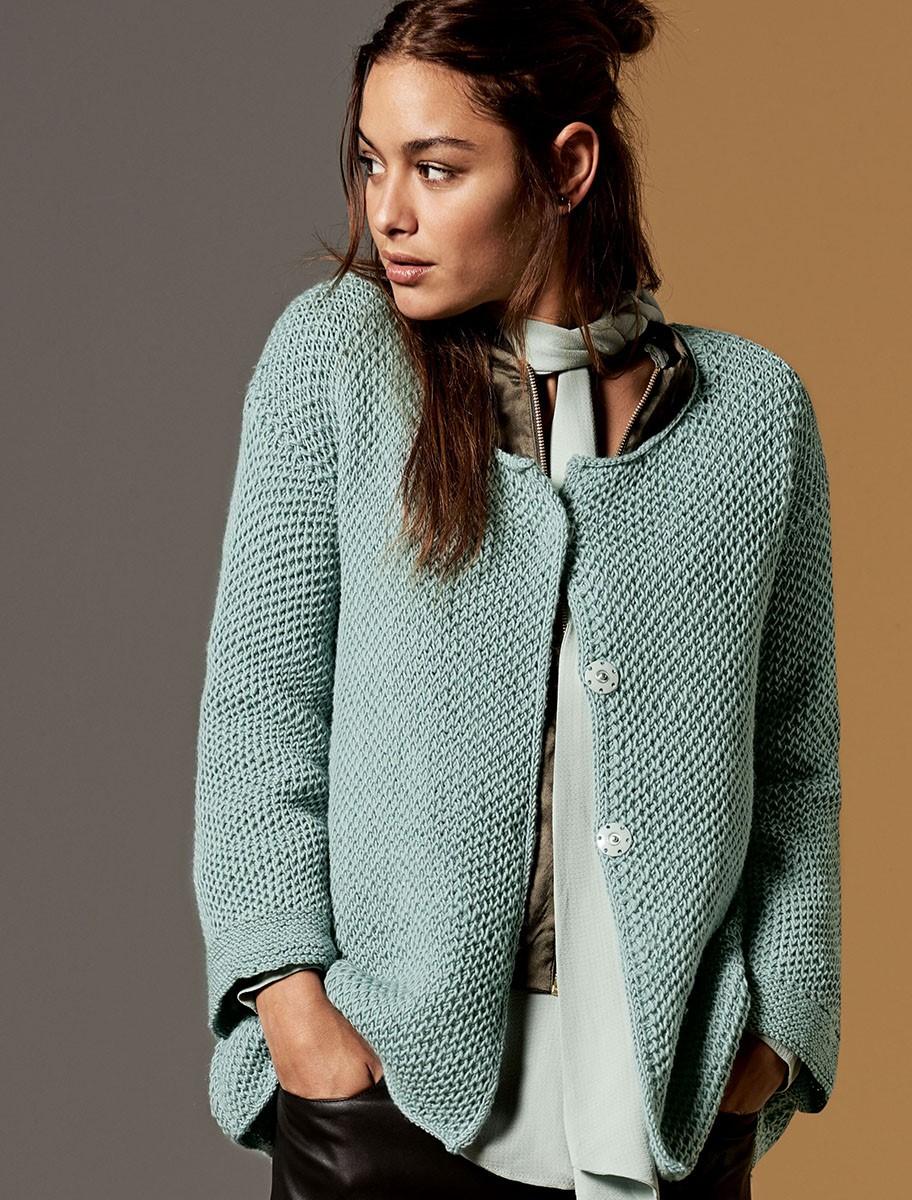 Lana Grossa JACKE Cool Wool Melange