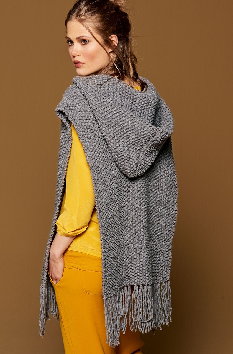 Lana Grossa PONCHO Mille II Lux