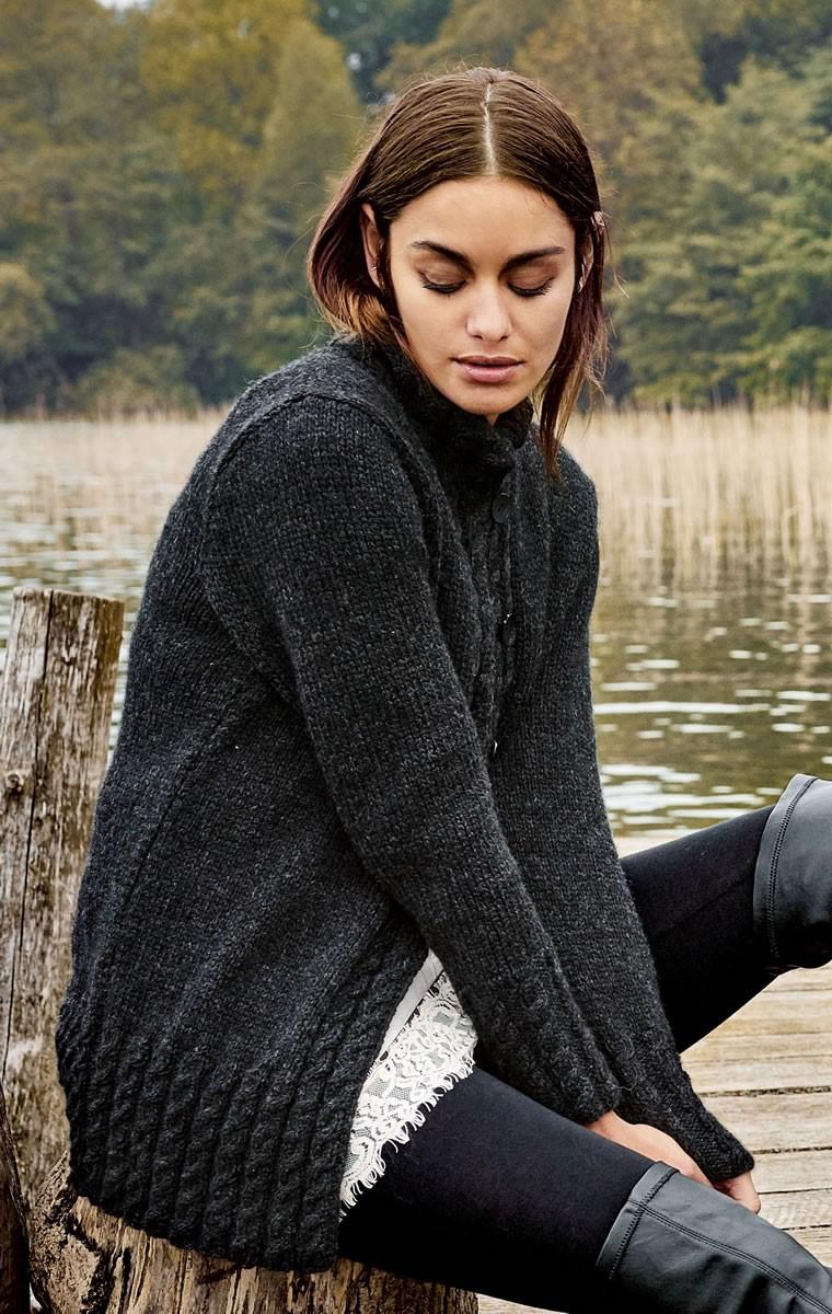 Lana Grossa JACKE Alta Moda Alpaca