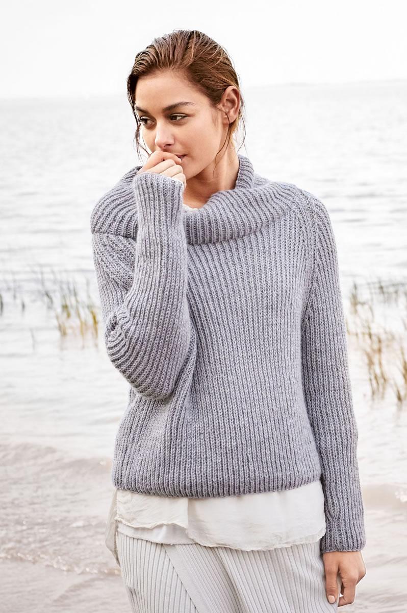 Lana grossa pulli cool wool cashmere filati classici no 11 modell 25 filati strickmodelle - Lana grossa diva ...