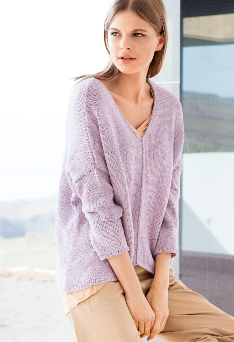 Lana Grossa PULLOVER 365 Cashmere