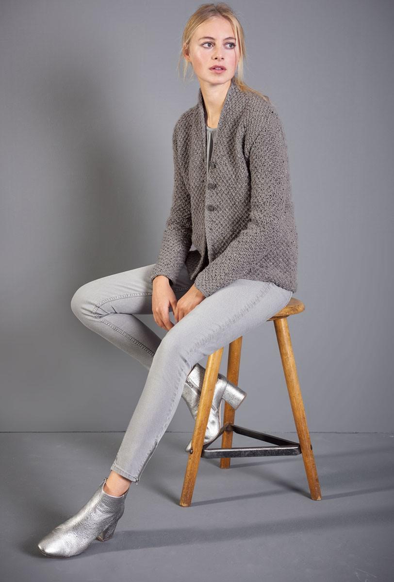 Lana Grossa JACKE Royal Tweed