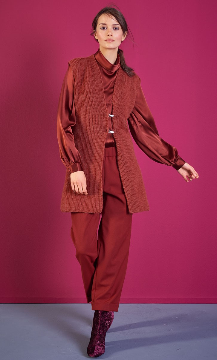 Lana Grossa LANGE WESTE Cool Wool Alpaca