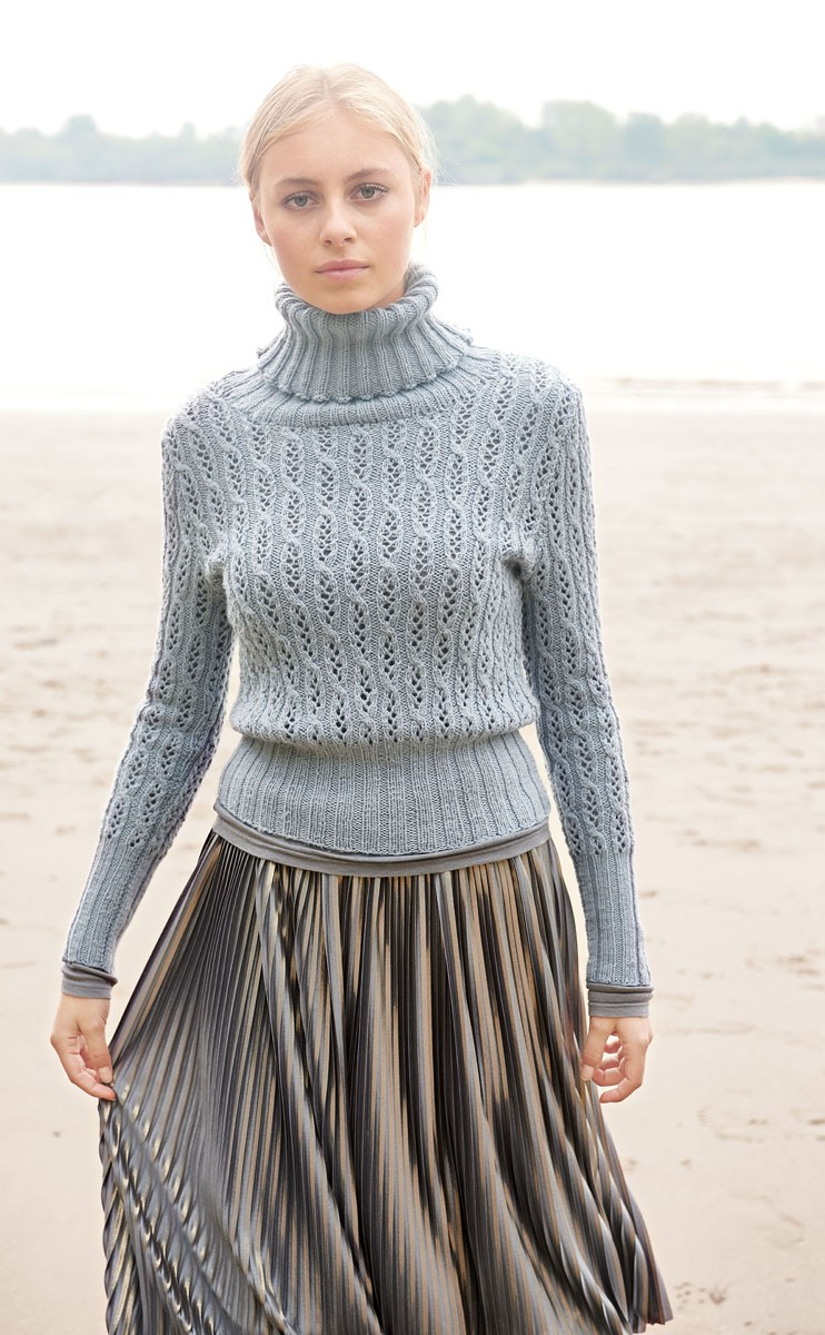 Lana Grossa PULLOVER Cool Wool Cashmere