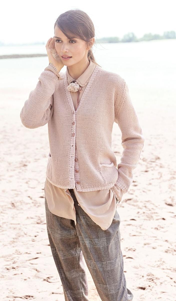 Lana Grossa JACKE Cool Wool Alpaca