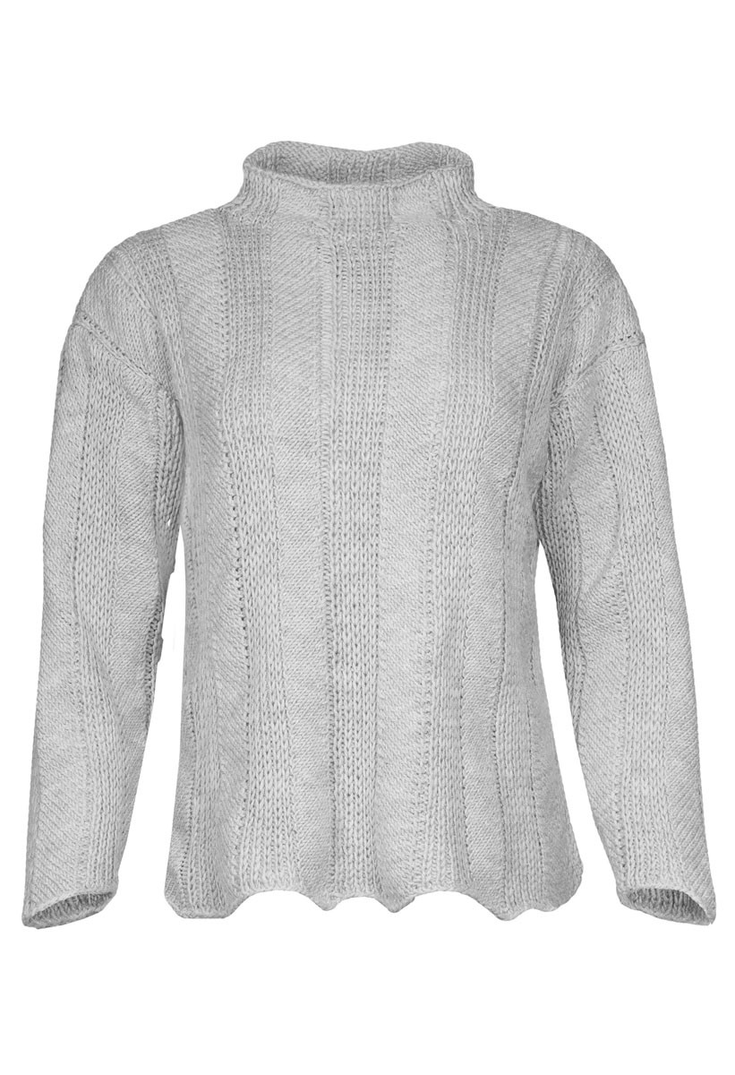 Lana Grossa PULLOVER Cool Wool Big