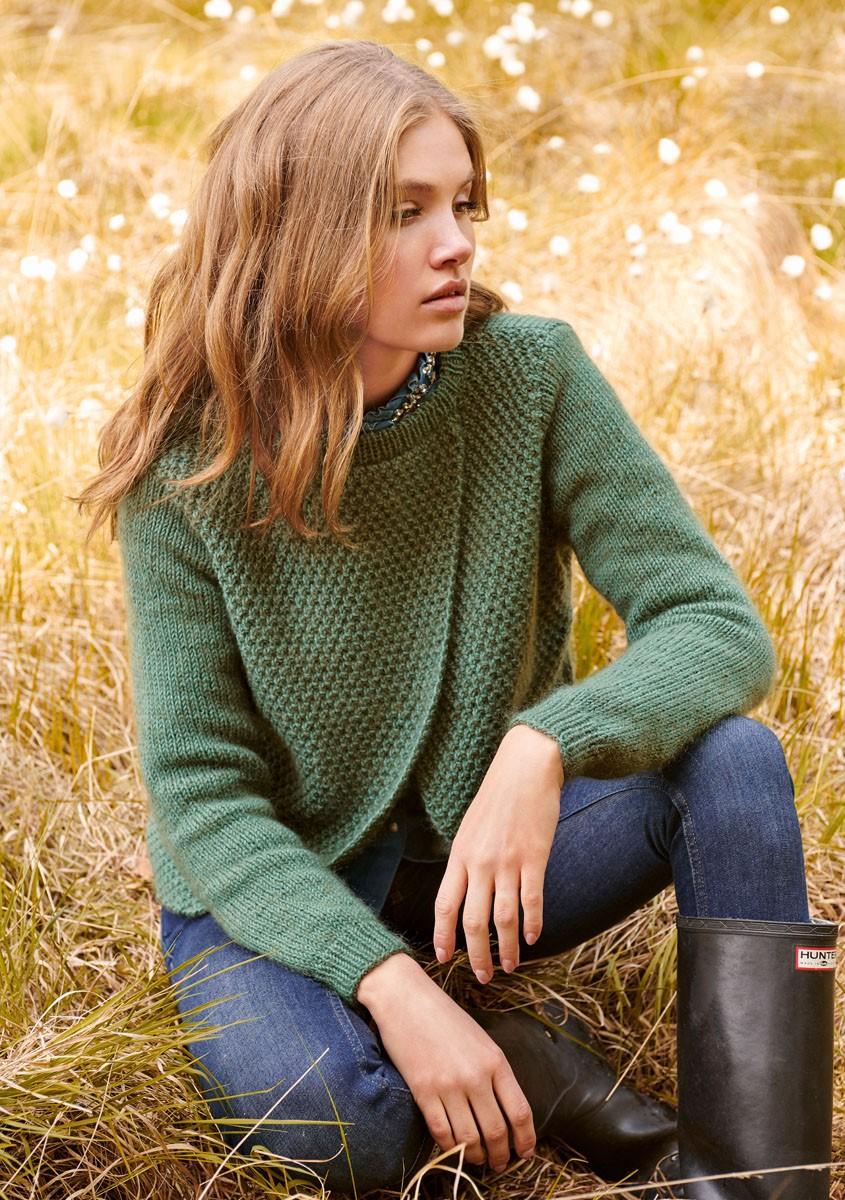 Lana Grossa PULLOVER Cool Wool Big/Silkhair
