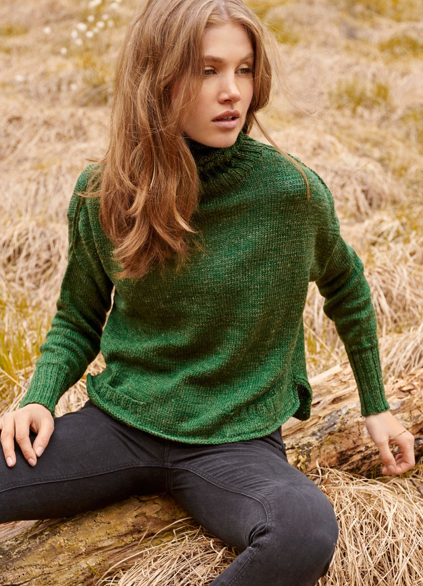 Lana Grossa PULLOVER Slow Wool Lino