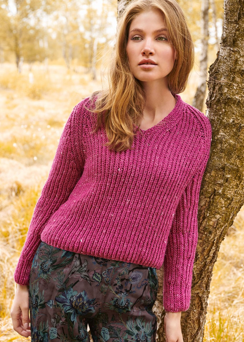 Lana Grossa PULLOVER Slow Wool Canapa