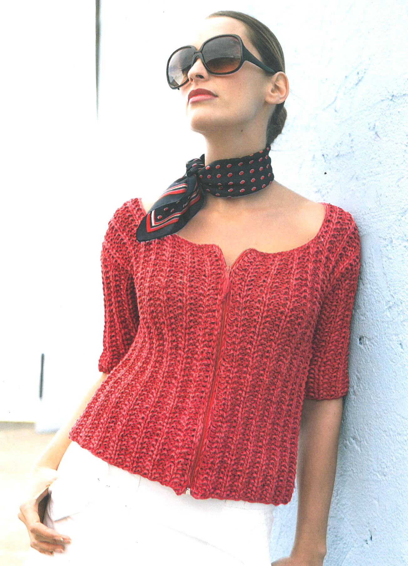 Lana Grossa Jacke Vespa Filati Handstrick No 36 Modell 39