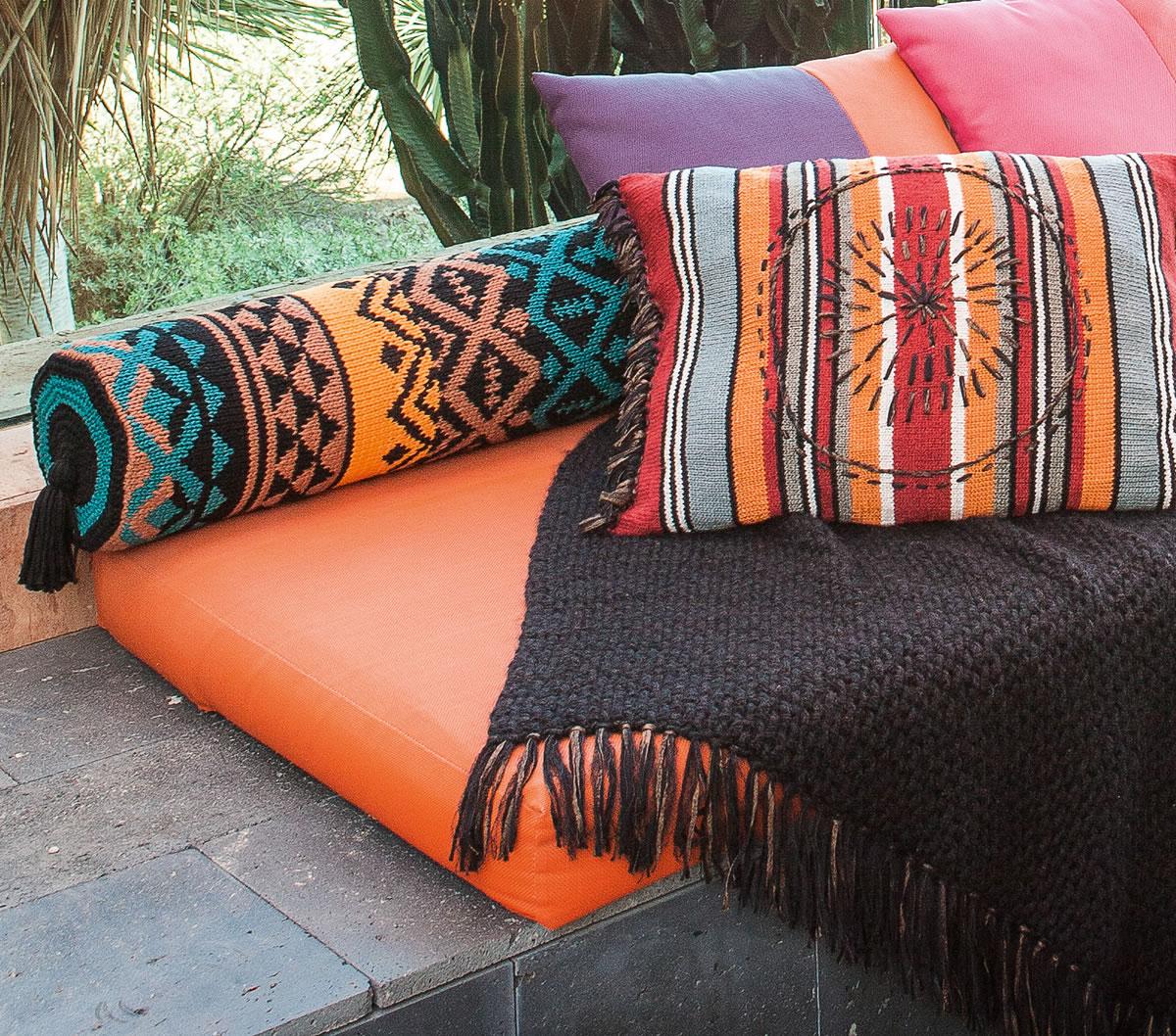 lana grossa nackenrolle im jacquardmuster cotofine filati handstrick no 59 home modell 2. Black Bedroom Furniture Sets. Home Design Ideas