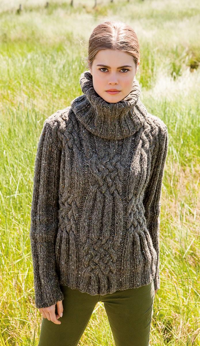 Lana Grossa PULLI Royal Tweed/Lace Paillettes