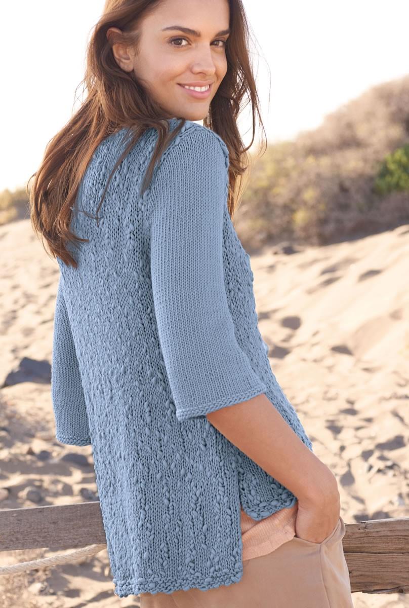 Lana Grossa PULLI MIT SCHLITZEN Only Cotton/Cotton Style
