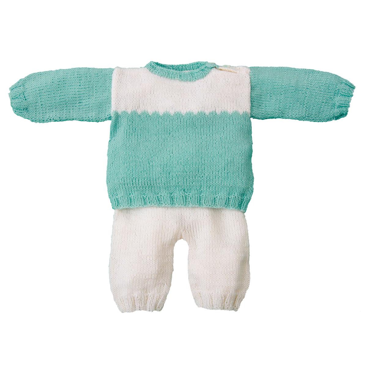 Lana Grossa Pulli Hose Cool Wool Baby Filati Infanti No 9