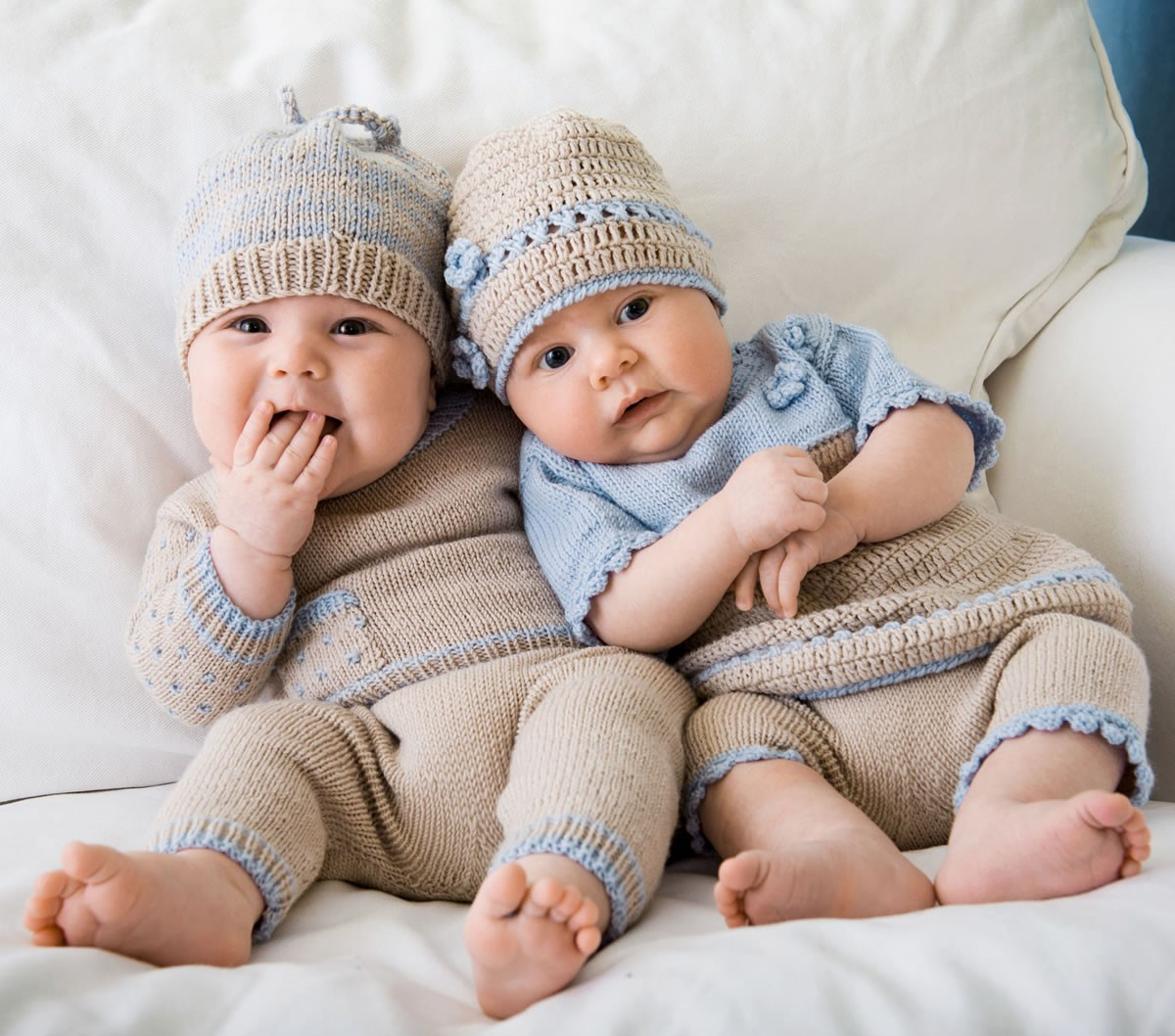 Lana Grossa PULLI, HOSE & MÜTZE Cool Wool Baby