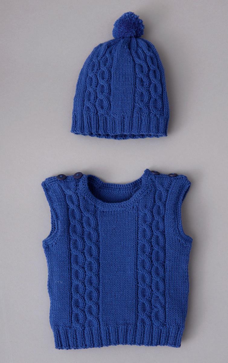 Lana Grossa Pullunder Mütze Cool Wool Baby Filati Infanti No 10