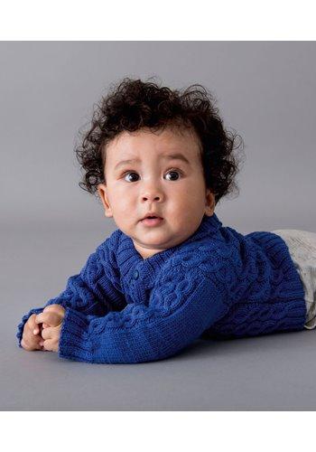 lana grossa jacke cool wool baby filati infanti no 10 modell 60 filati strickmodelle. Black Bedroom Furniture Sets. Home Design Ideas