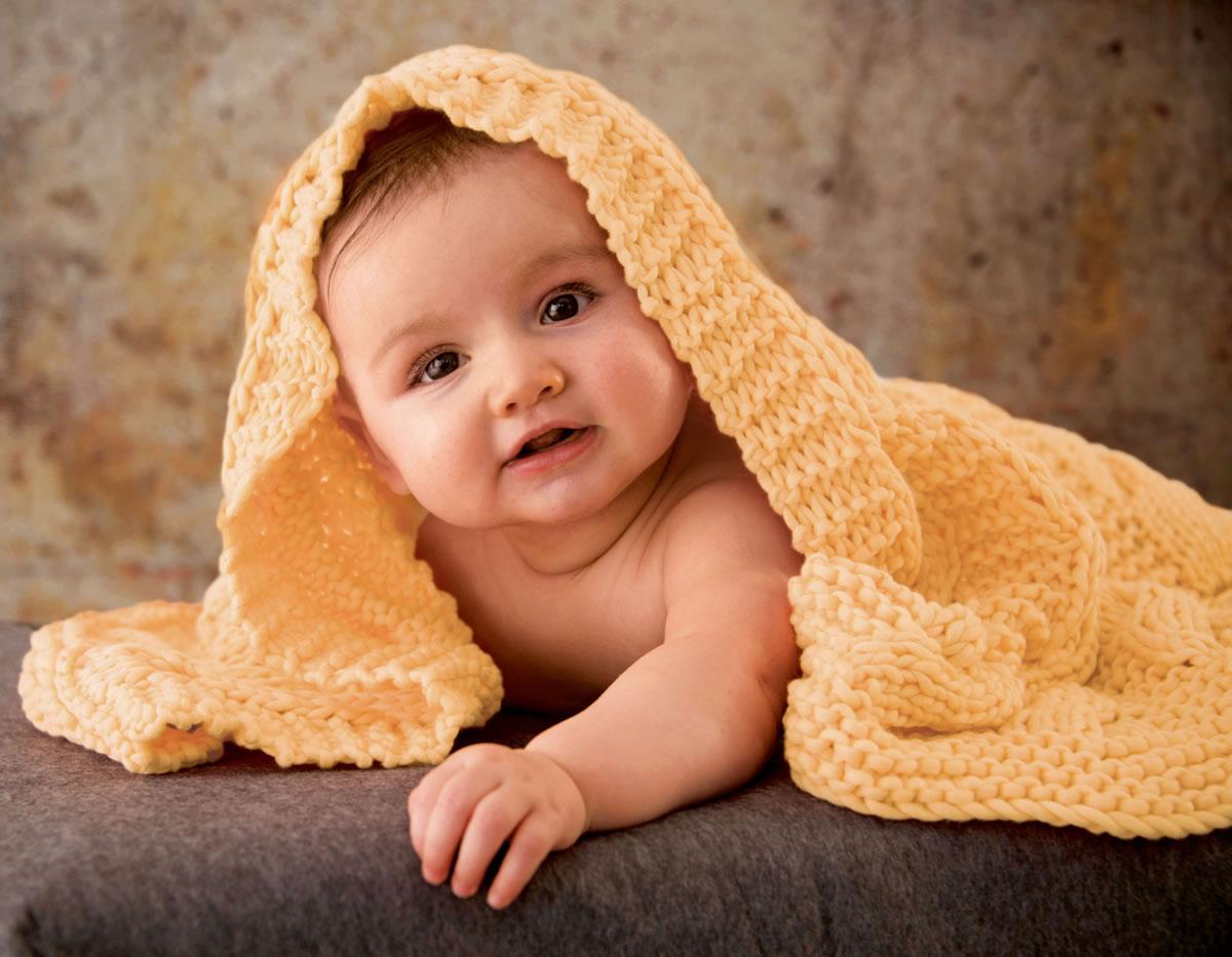 Lana Grossa Decke Cashsilk Filati Infanti No 11 Modell 25