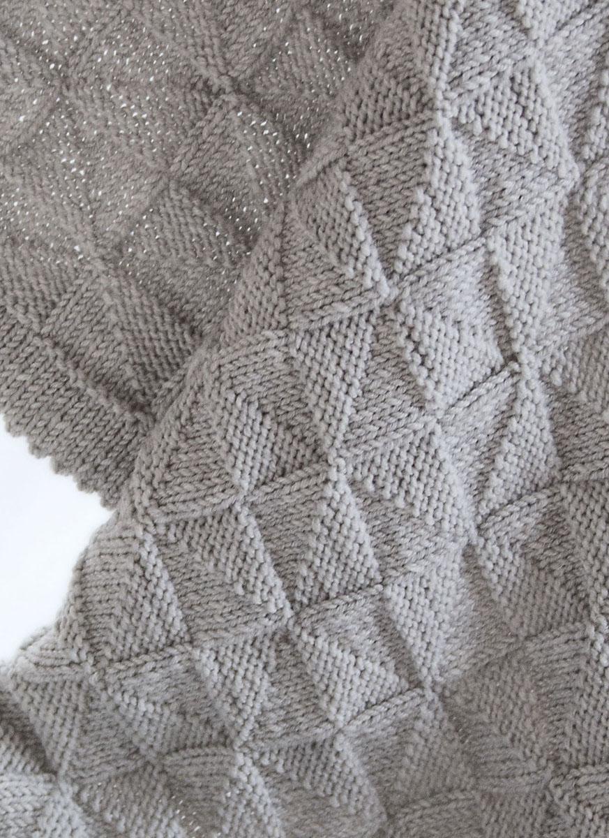 Lana Grossa Decke Cool Wool Big Filati Infanti No 12 Modell 47