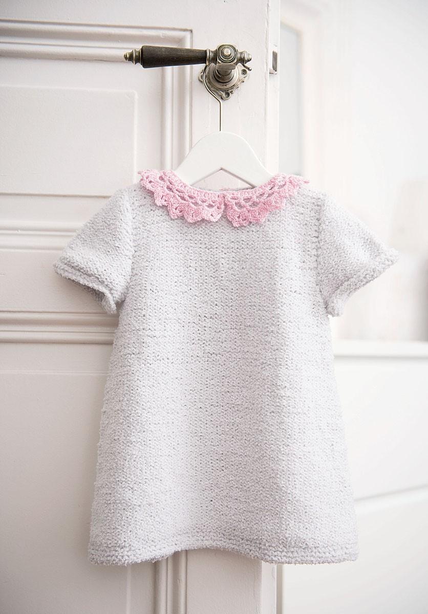 Lana Grossa KLEID Baby Soft/Cool Wool Baby