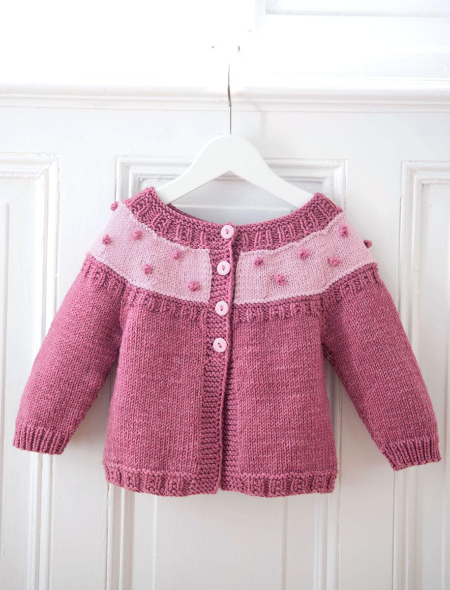 Lana Grossa Jacke Cool Wool Big Filati Infanti No 13 Modell 55