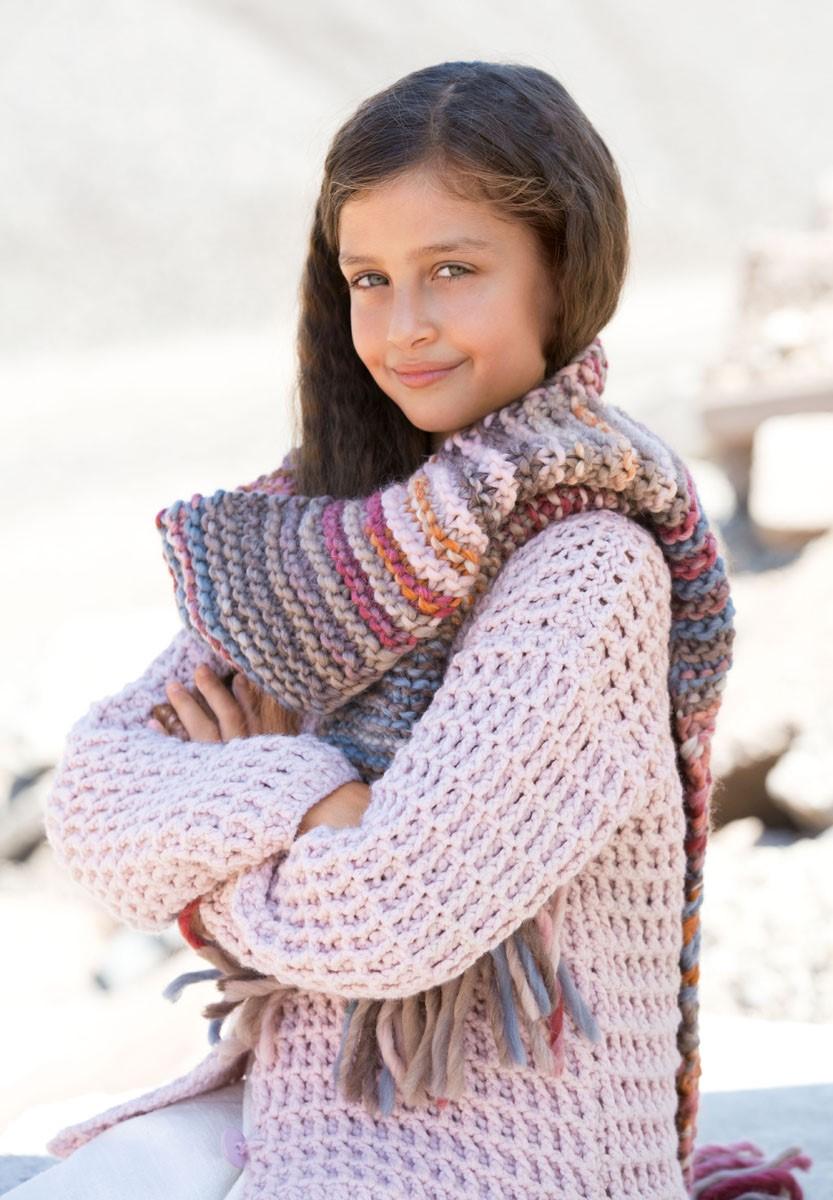 Lana Grossa SCHAL Lei Degradé/Lei Tweed Color