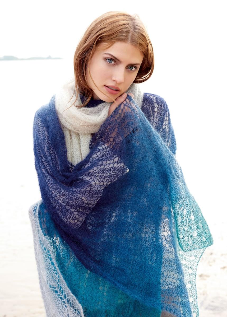 Lana Grossa XXL-SCHAL Silkhair Degradè
