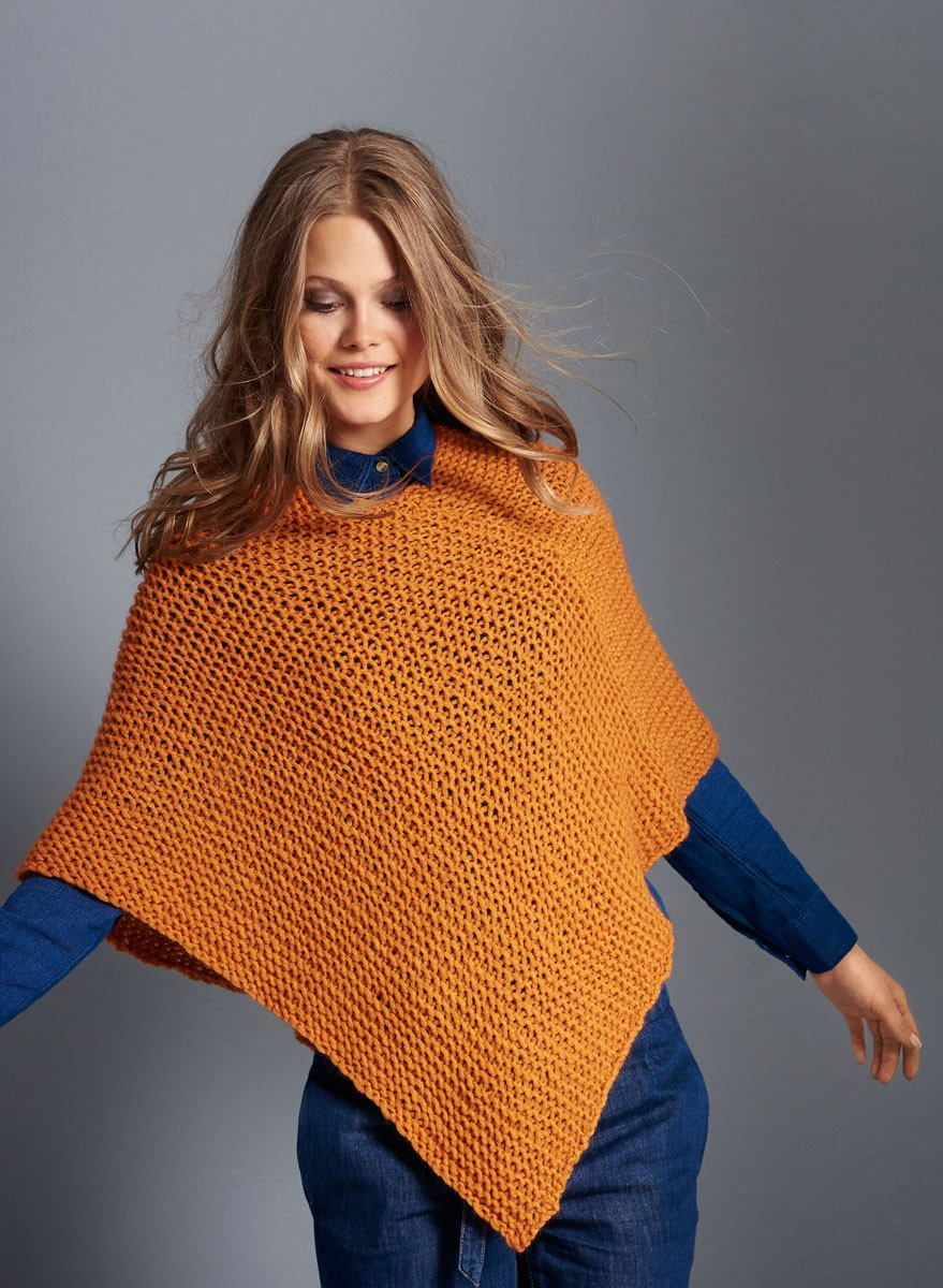 STRICKPAKET - PONCHO Colmo