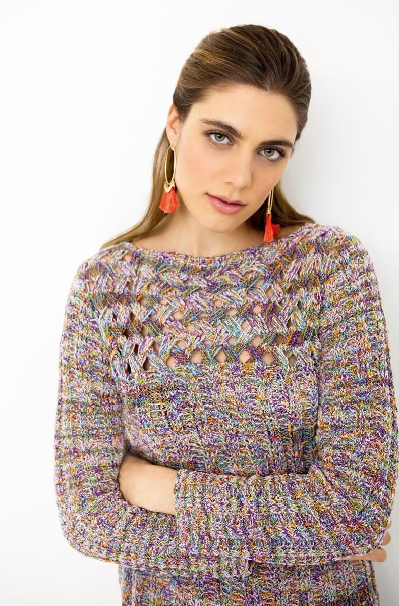 Lana grossa pullover coco filati collezione no 1 modell 10 filati strickmodelle modell - Lana grossa diva ...