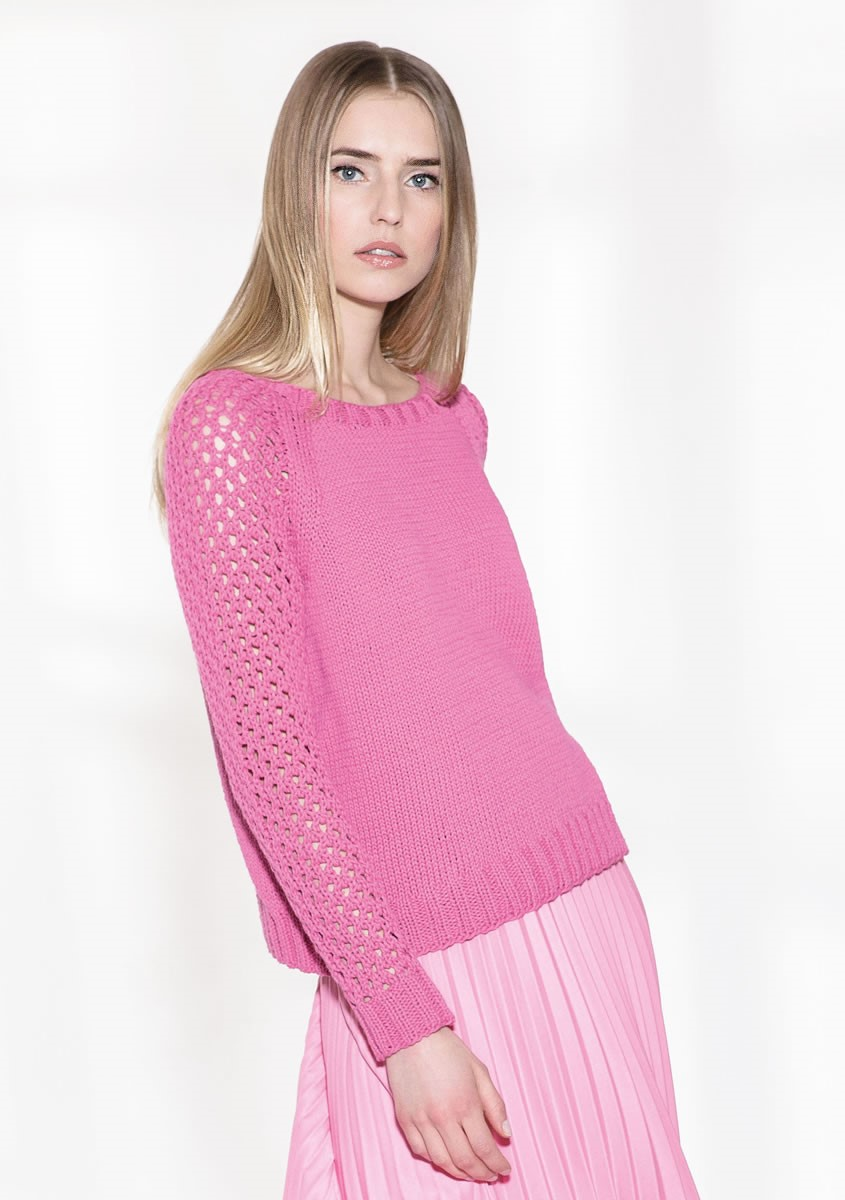 Lana Grossa PULLOVER Only Cotton