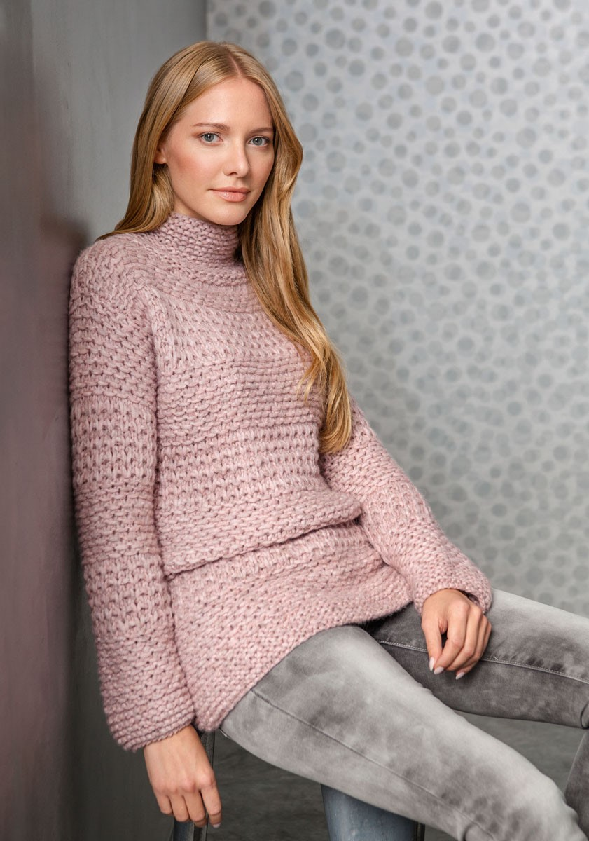 Lana Grossa PULLOVER Lala Berlin Lovely