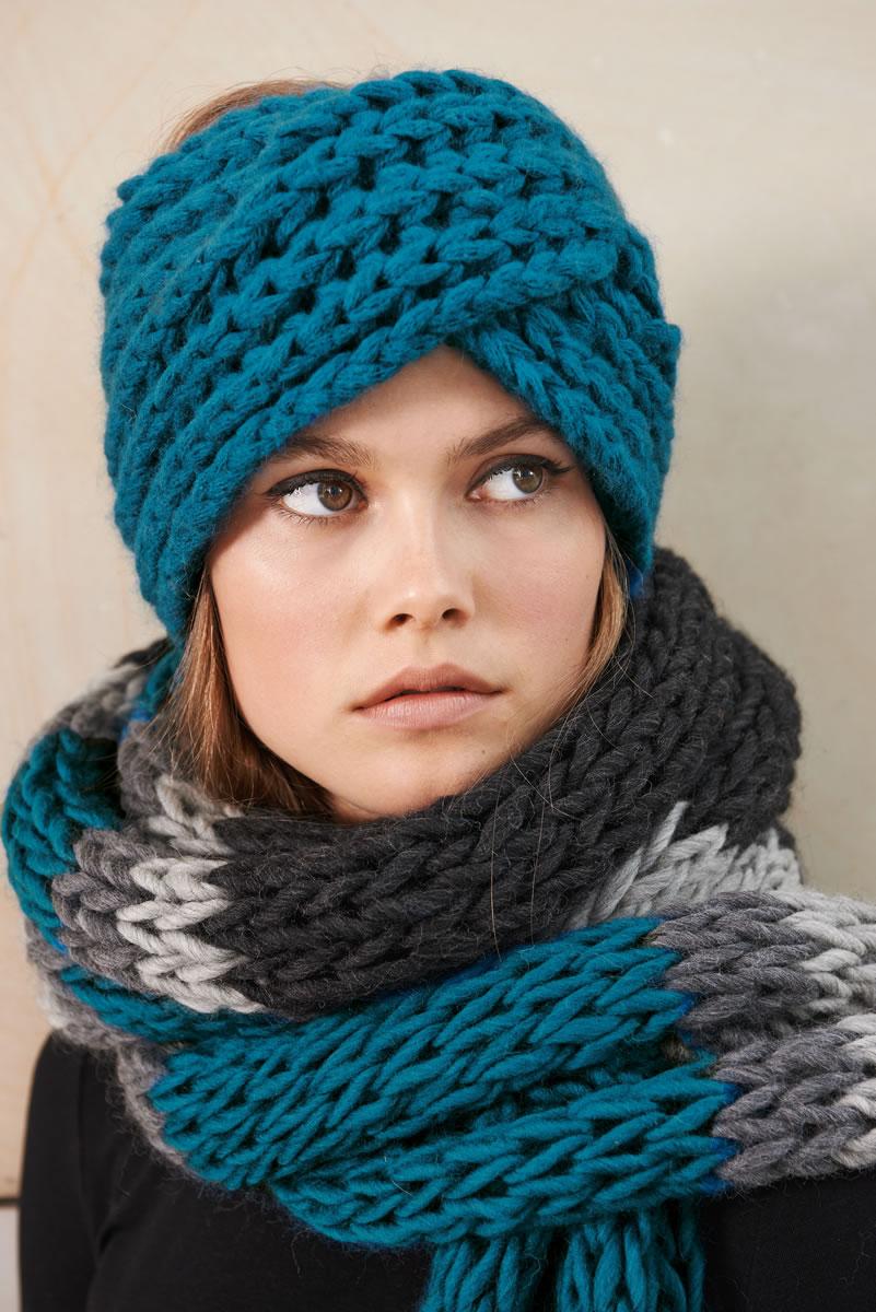 Lana grossa breites stirnband soffilo design special no 2 modell seite 36 filati - Lana grossa diva ...