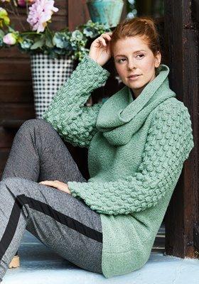 Lana Grossa Strickmodelle Damen Schals Loops Tücher 1