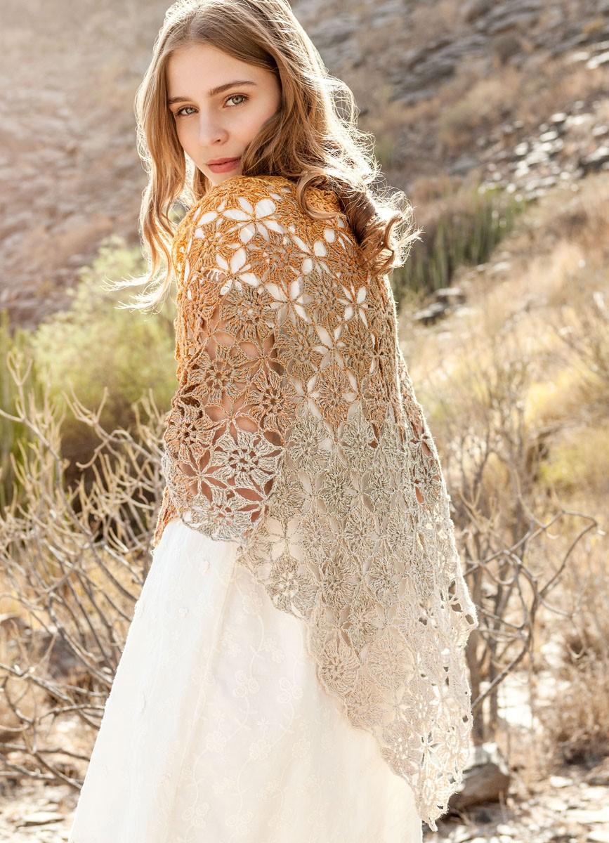 Lana Grossa DREIECKTUCH Shades of Cotton Linen
