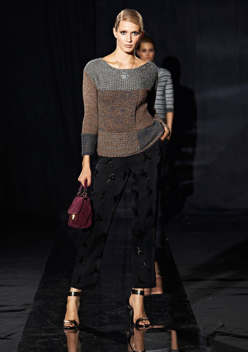 Lana Grossa PULLOVER Roma - LOOKBOOK No. 1 - Spring/Summer 2015 - Modell 10 | FILATI.cc WebShop