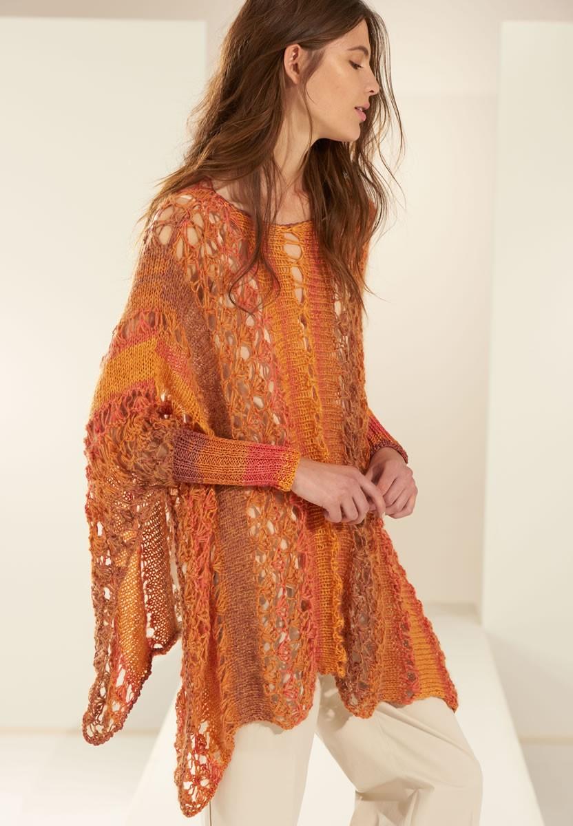 Lana Grossa PONCHO Di Moda/Silkhair