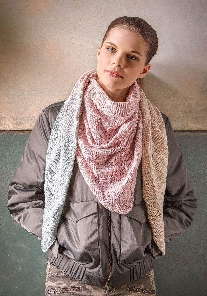 Lana Grossa DREIECKSTUCH Shades of Merino Cotton