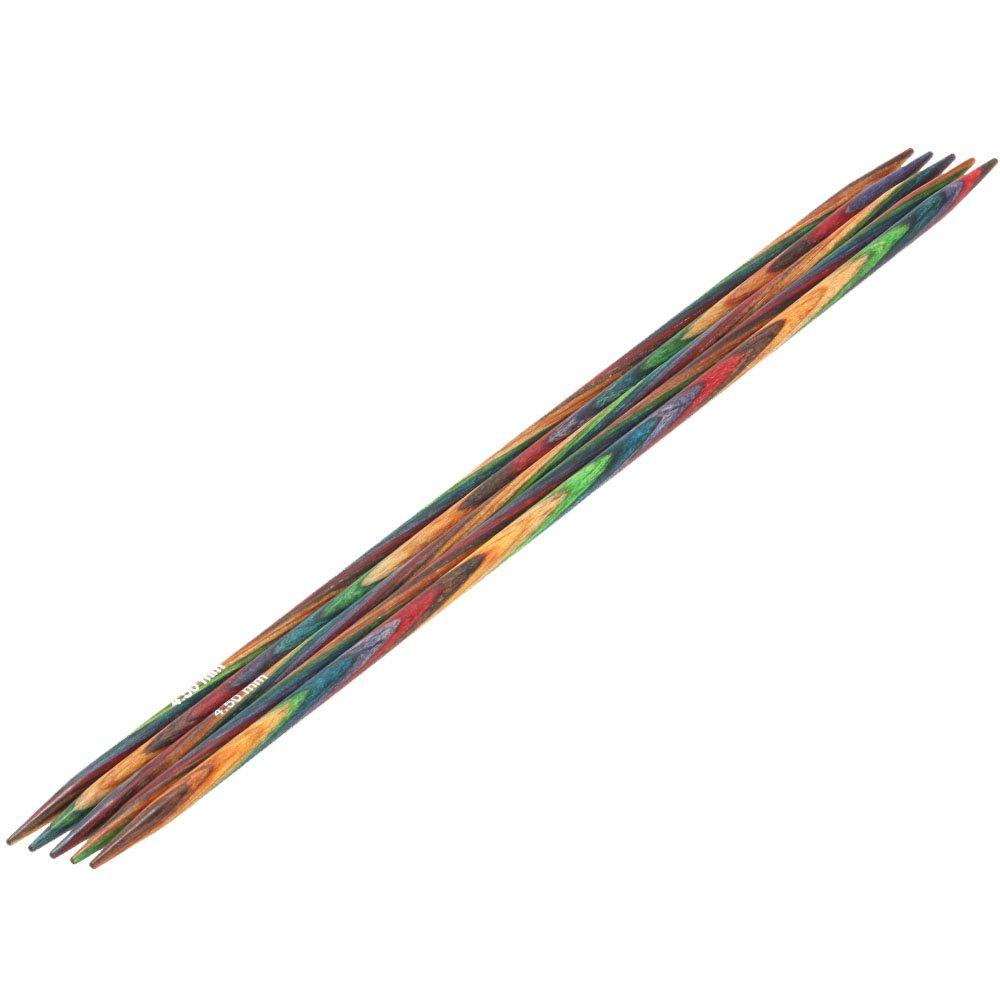 Lana Grossa Nadelspiel Design-Holz Color St. 4,5/20cm