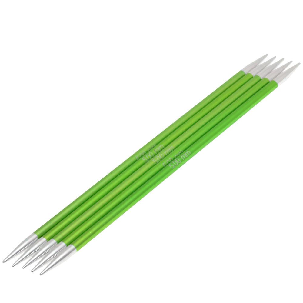 Nadelspiel Aluminium Rainbow L/änge 20 cm//St/ärke 7,0