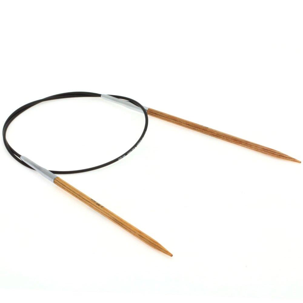Lana Grossa Rundstricknadel Design-Holz Natur St. 4,0/60cm