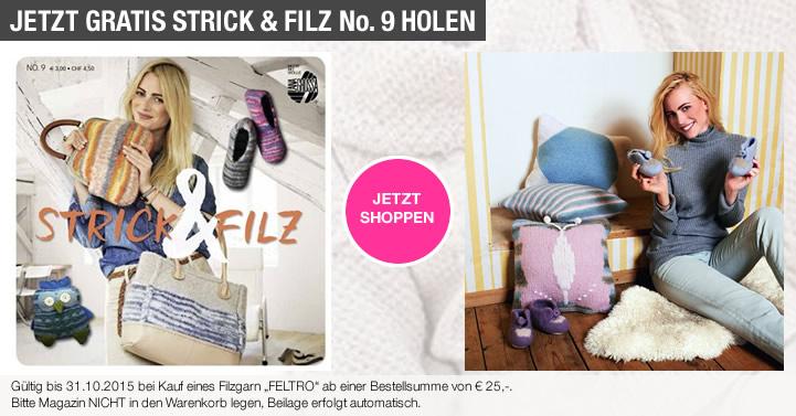 Strick & Filz No. 9 gratis